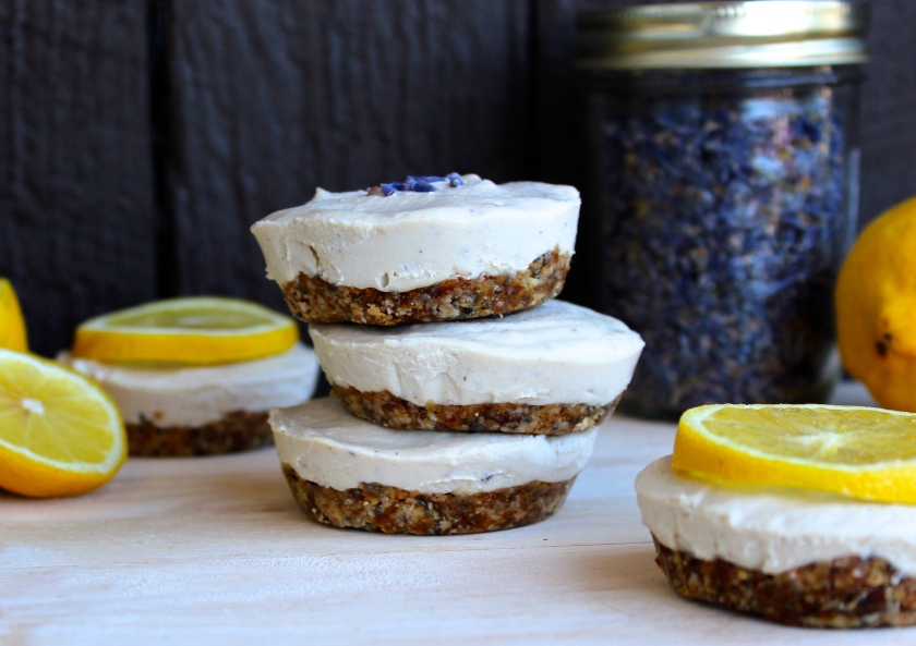 Lemon Lavender Raw Vegan Cheesecake 11